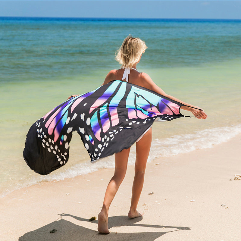 New Women Party Summer Fashion Beach Bikini Wrap Cover Up Long Maxi Dress Plus Size