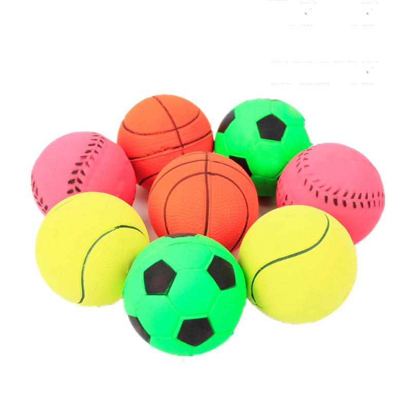 Color Elastic Ball Good Flexibility Training Pet Dog Toy Pet Toy
