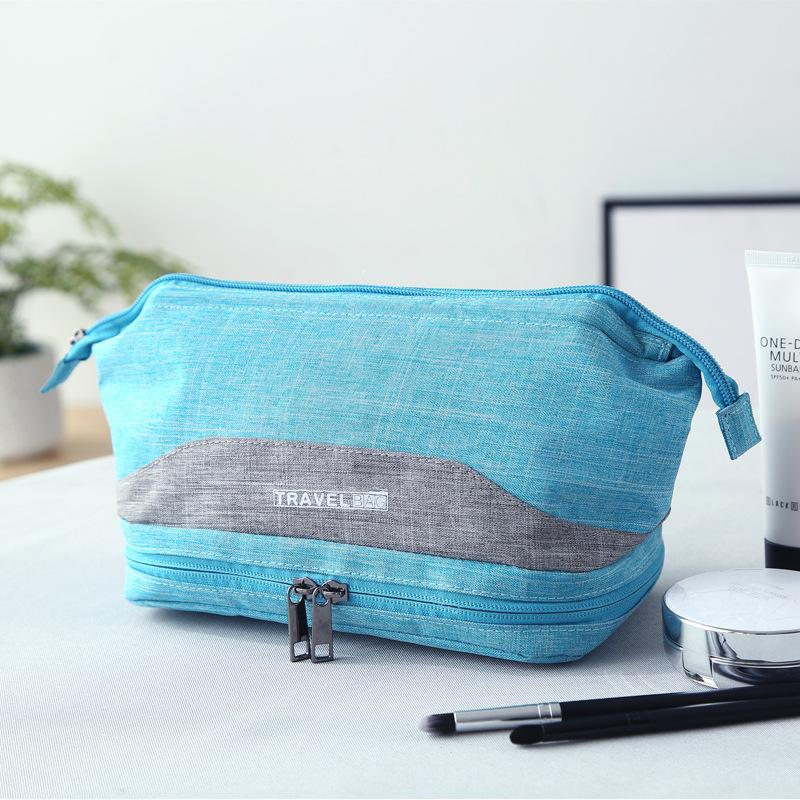 Women and Men Waterproof Cosmetic Bag Travel Wash Bag
