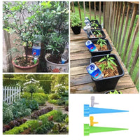 Automatic Watering Irrigation Spike Garden Plant Flower Drip Sprinkler Water Droplet Care Your Indoor & Outdoor Home Office Plants 6/12 Pcs
