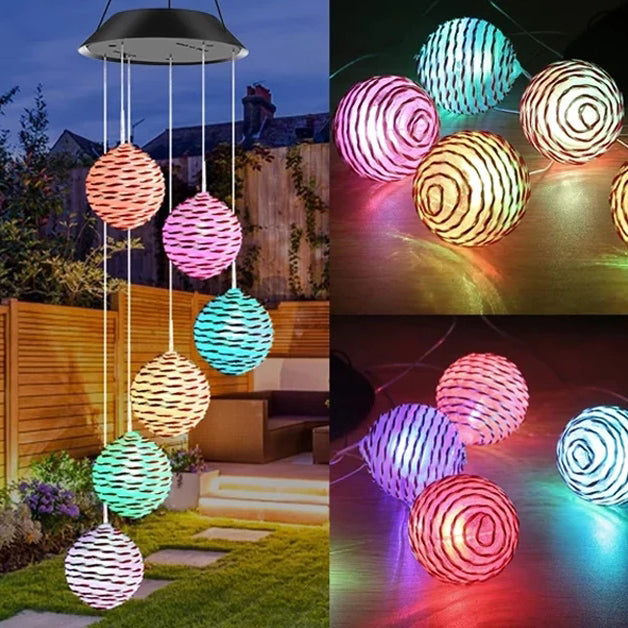 Spiral Spinner Decorative Wind Chime