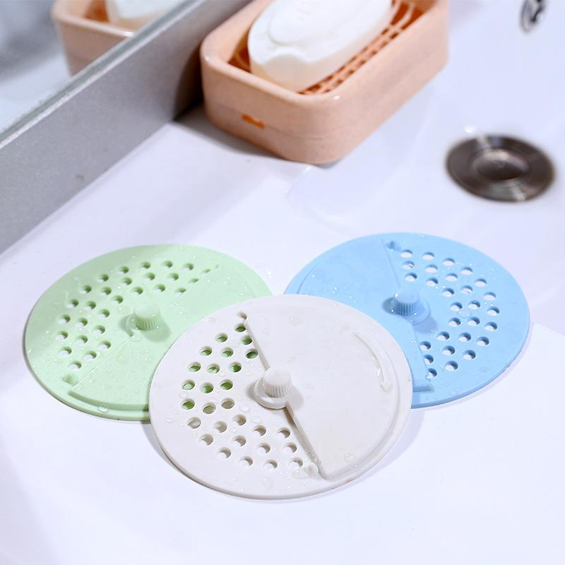 Bathroom Kitchen Strainer Filter Sink Drain Cover