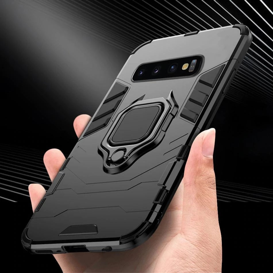 2019 Ultra-thin 4 in 1 Special Armor Case For Samsung