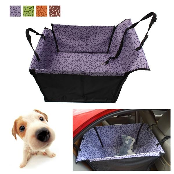 Pet Dog Cat Car Rear Back Seat Cover Mat Protector Hammock Car Seat Cushion Waterproof