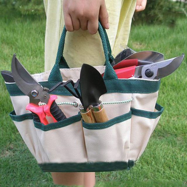 Garden Tools Storage Package Handbags Thickening Oxford Cloth Wear Waterproof Portable Toolkit