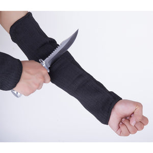 Garden Tools 1 Pair Steel Wire Safety Anti-cutting Arm Sleeves Gardening Outdoor Protection Tool