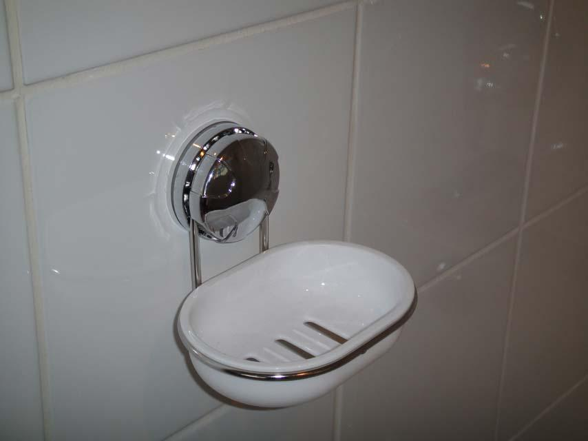 Eurowire Soap Dish (suction or screw)