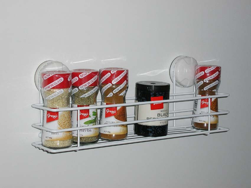 Eurowire Spice Rack (suction or screw)