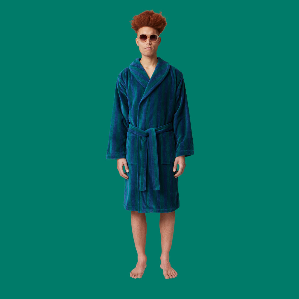 Nufferton Roy Robe Blue & Green