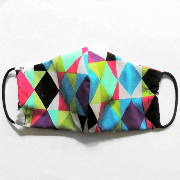 Child Geometric Print Reusable Face Mask