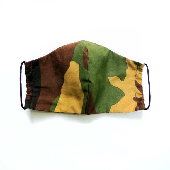Camo Reusable Cotton Face Mask