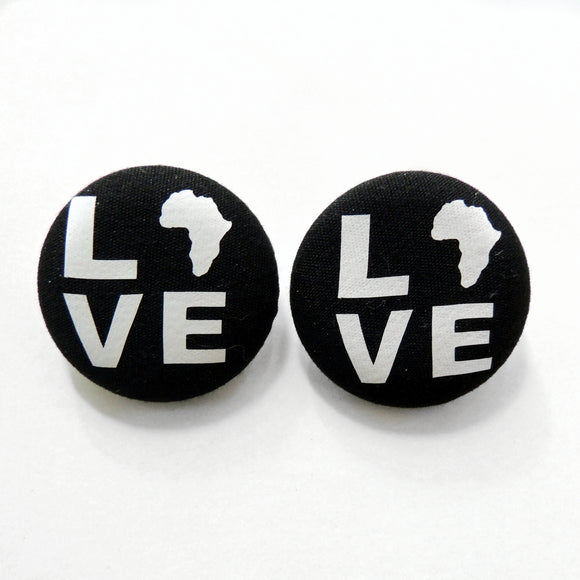 Africa Love Stud Earrings