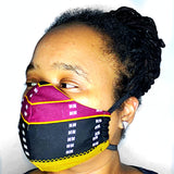 African Fabric Face Mask