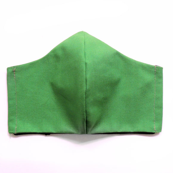 Green Cotton Re-Usable Face Mask