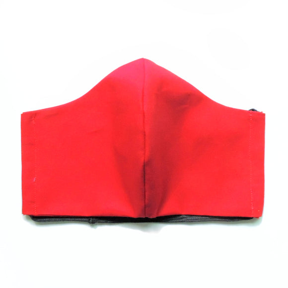 Red Cotton Re-Usable Face Mask
