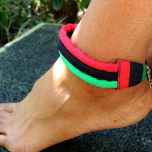 Pan-African Anklet