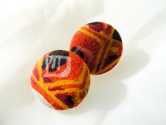 Moto Fabric Earrings