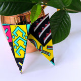 Tahj African Print Earrings