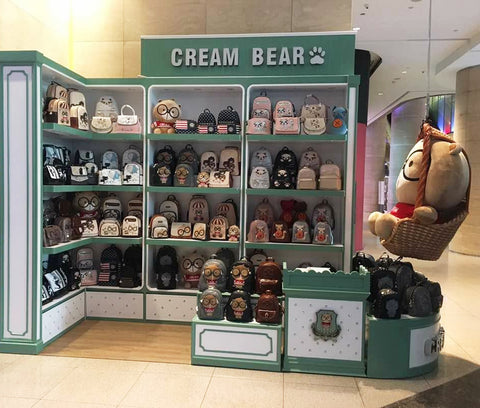 Cream Bear Concept Store, Orchard Gateway, Singapore