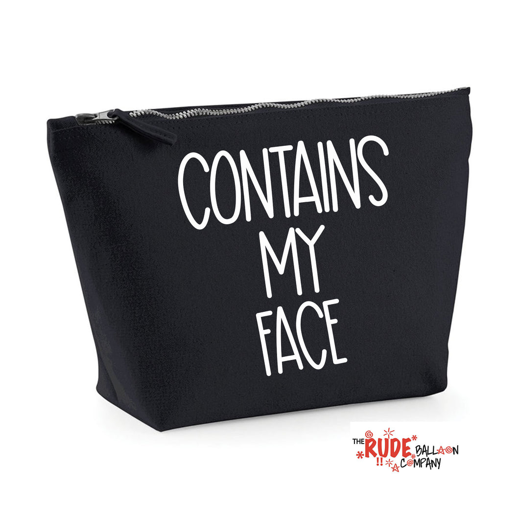 Contains My Face Make Up Bag