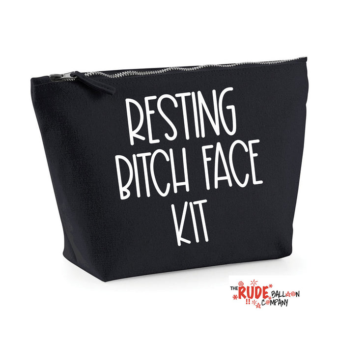 Resting Bitch Face Make Up Bag
