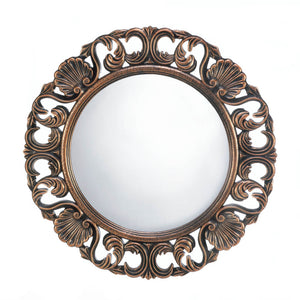 Heirloom Round Wall Mirror - Sandcastle Home
