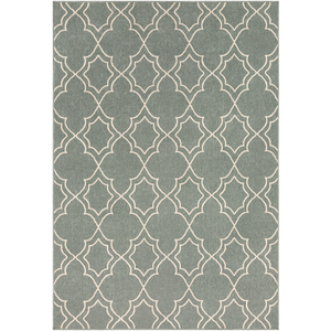 Alfresco Sage and Cream Rug - Sandcastle Home