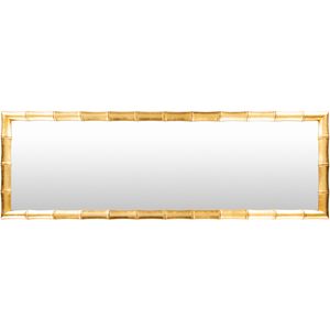 Daria Gold Bamboo Wall Mirror - Sandcastle Home