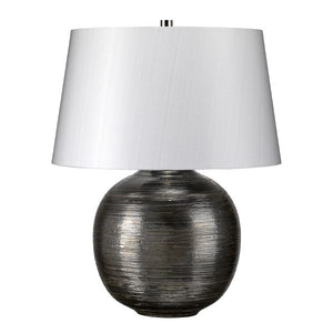 Caesar Silver Table Lamp - Sandcastle Home