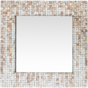 Hornbrook Mother Of Pearl Mirror (Square) - Sandcastle Home