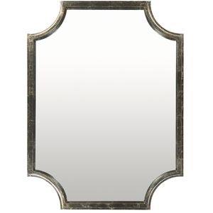 Long Bay Wall Mirror (Silver) - Sandcastle Home