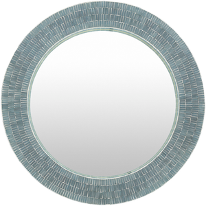Natalia Chromis Mother Of Pearl Wall Mirror - Sandcastle Home