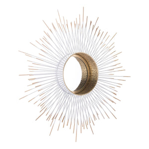 Foxy Spine Urchin Wall Mirror - Sandcastle Home