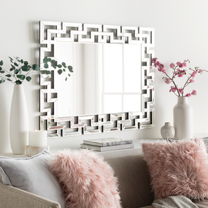 Radcliff Coral Beauty Wall Mirror - Sandcastle Home