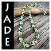 Ivory and Jade Jewelry