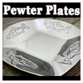 Pewter Plates & Trays