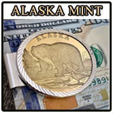Alaska Mint Medallions and Money Clips
