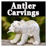 Alaskan Antler Carvings