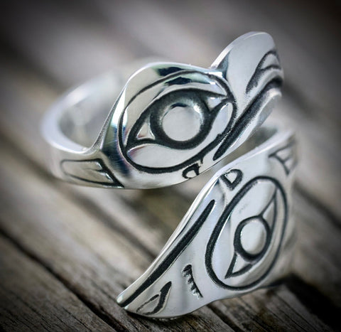 Native American Silver Rings