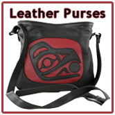 Leather Purses & Moccasins