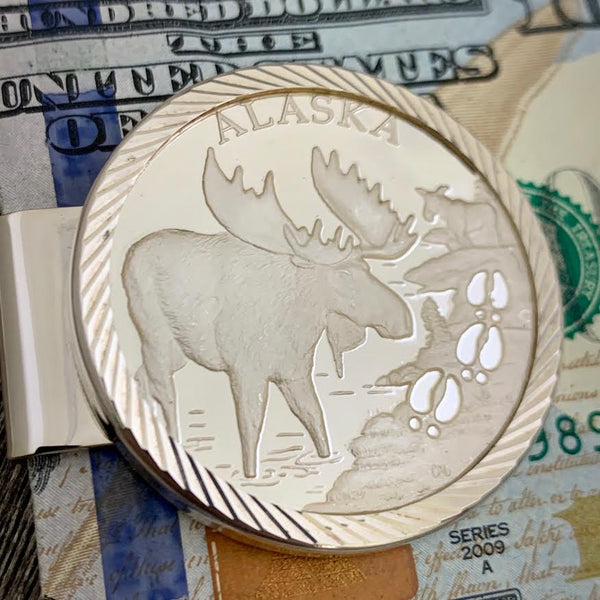 Moose Large Money Clip