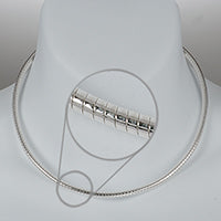 4mm Super Light Omega Silver Chain