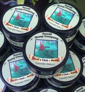 Devils Club & Hemp Balm