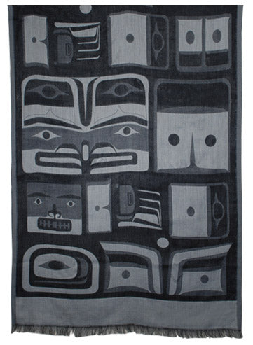 Chilkat Scarf - Grey