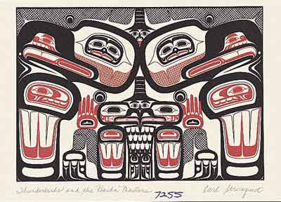 Thunderbird and the Haida Masters by Carl Stromquist