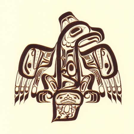 Haida Eagle (Copper) by Bill Reid