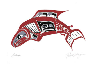 Salmon by Richard Shorty