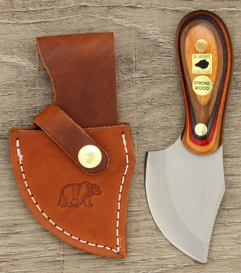Mule Skinner with Natural, Red and Grey  Dymondwood Handle