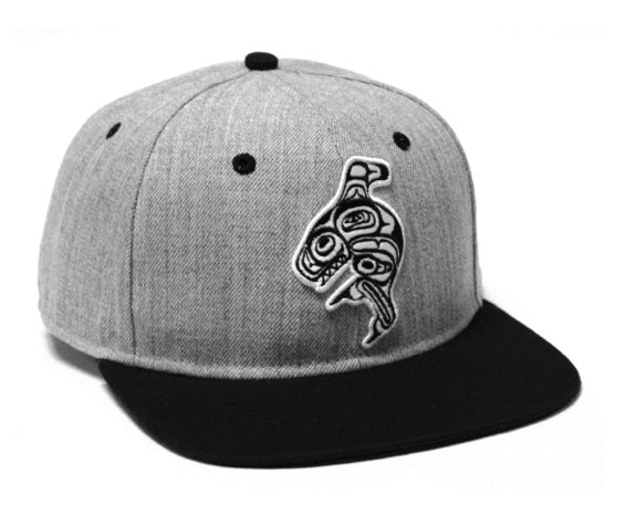 Snap Back Hat- Whale