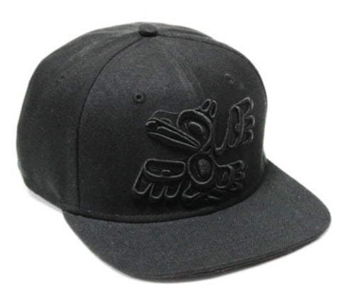 Snap Back Hat- Raven